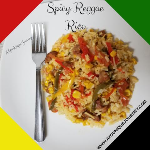 Flavorful Spicy Reggae Rice
