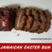 Slices of Jamaican Easter Bun