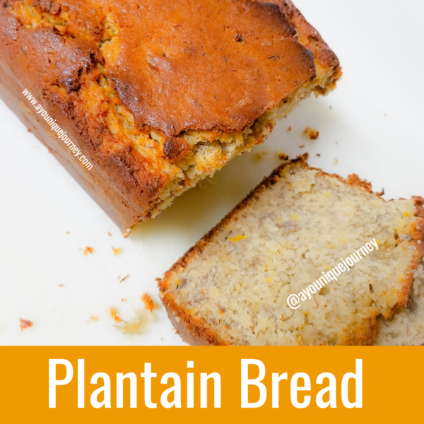Easy and Delicious Plantain Bread
