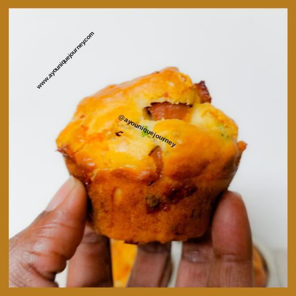 A Breakfast Muffin.