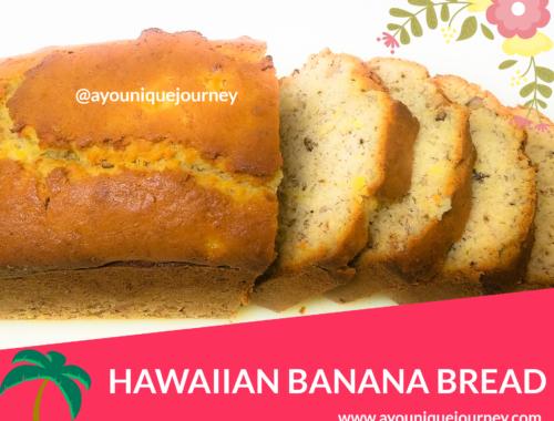 Sliced Hawaiian Banana Bread