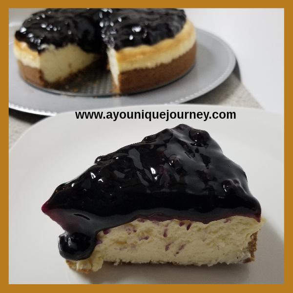 Blueberry Cheesecake Recipe.