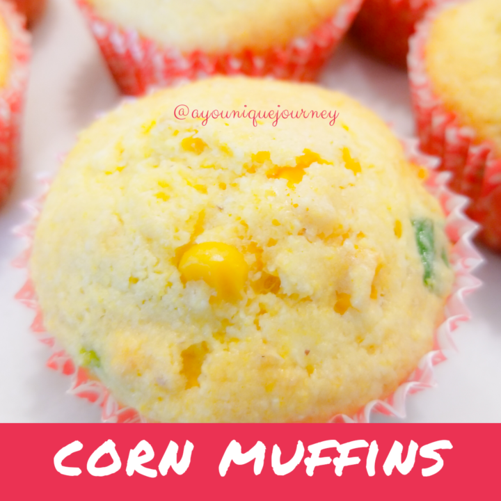 Corn Muffins ready to eat.