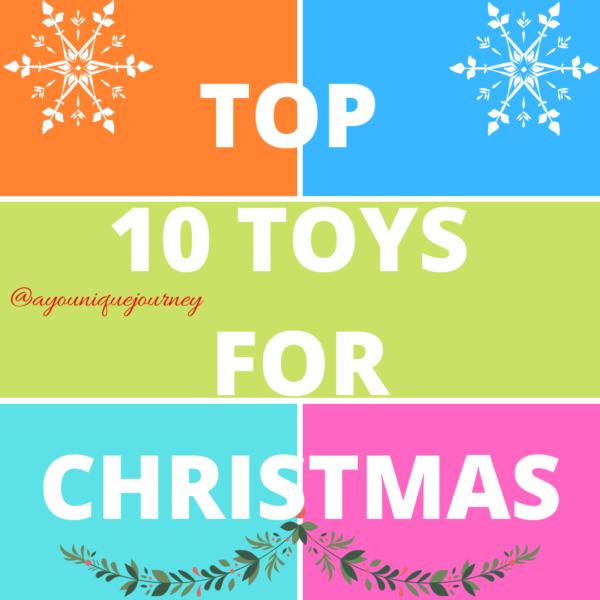 Top 10 Toys for Christmas