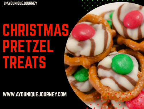 Christmas Pretzel Treats for the holidays.