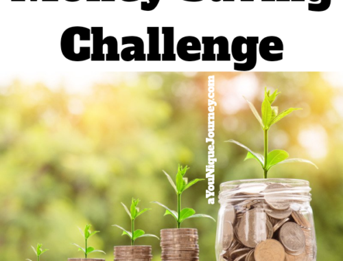 Money Saving Challenge to help you save.