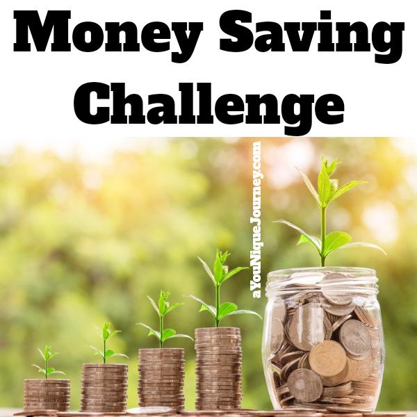 Money Saving Challenge to help you save.