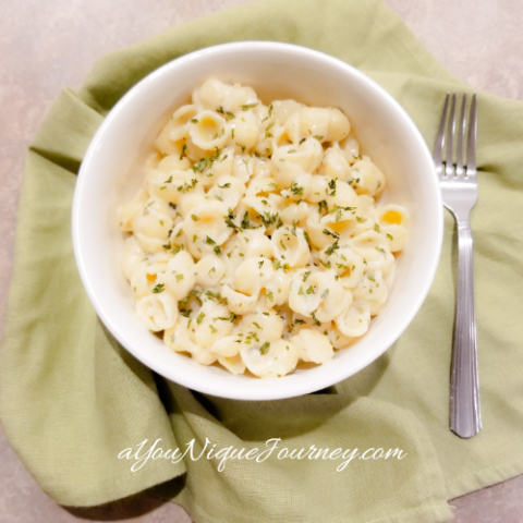 Creamy Garlic Shell Pasta Recipe