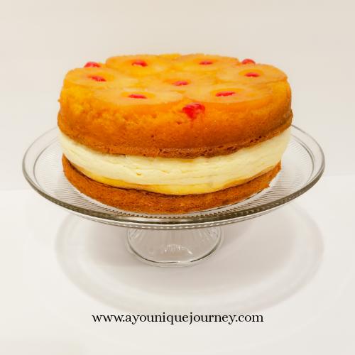 Pineapple Upside Down Cheesecake