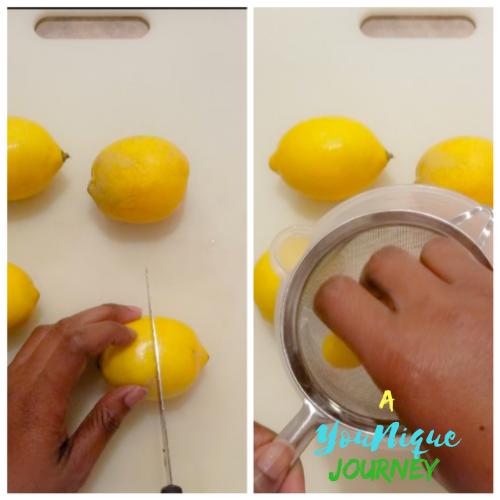 Juicing the lemons.