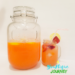 Strawberry Lemonade in a mason jar.