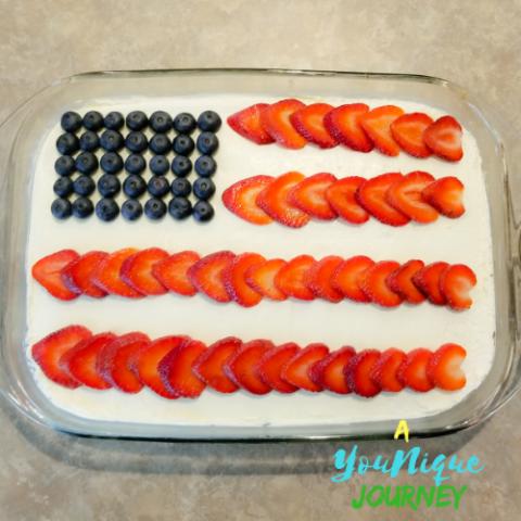 Red White and Blue Poke Cake Recipe