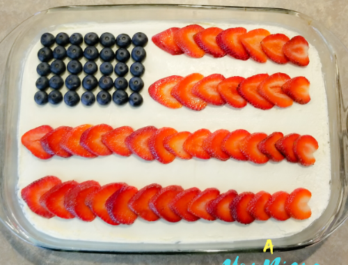 Red White and Blue Poke Cake Recipe