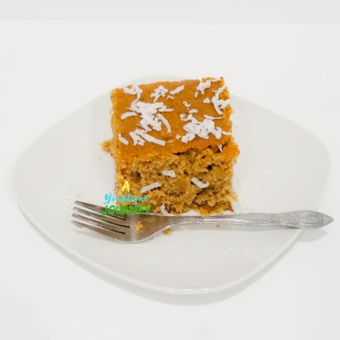 Jamaican Toto Coconut Cake Recipe