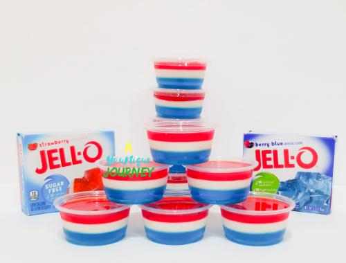 Red White & Blue Jello Shots Recipe