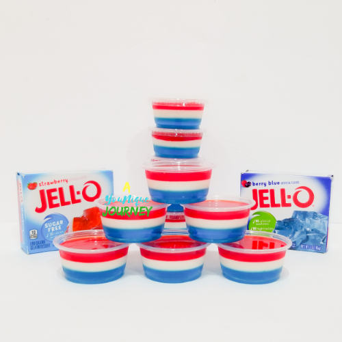Red White & Blue Jello Shots Recipe