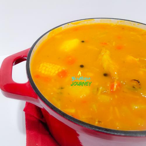 jamaican chicken pumpkin soup  a younique journey