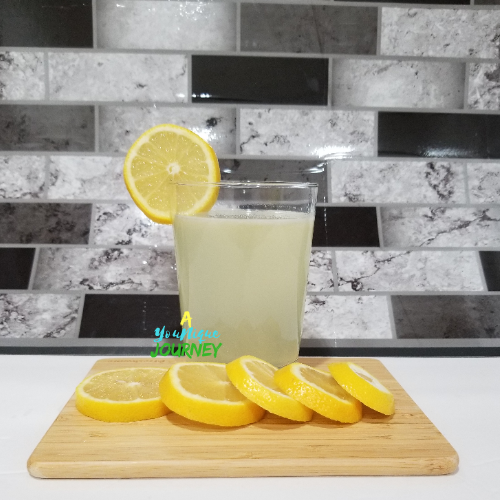 A refreshing glass of Lemonade.