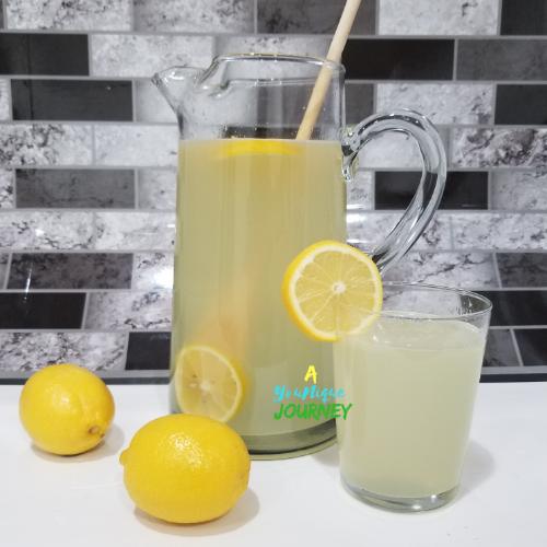 Lemonade Recipe.