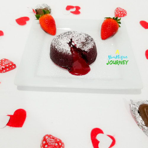 Red Velvet Lava Cake.