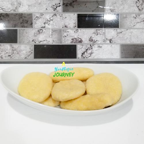Jamaican Boiled Cornmeal Dumplings